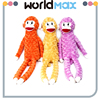 Different Size Promotional Gift Plush Long Legs Monkey Cartoon Kid Girls Toys
