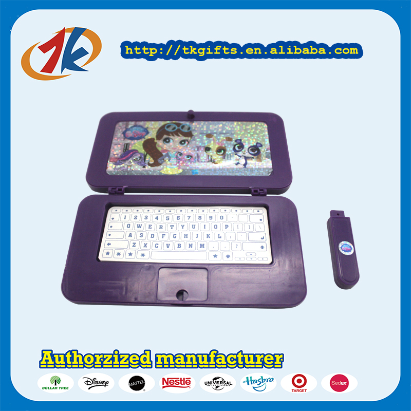 Mini Educational Computer Toy With USB Flash Disk