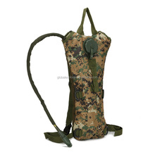 fashion outdoor camouflage 600D running cycling bicycle water bottle kettel backpack