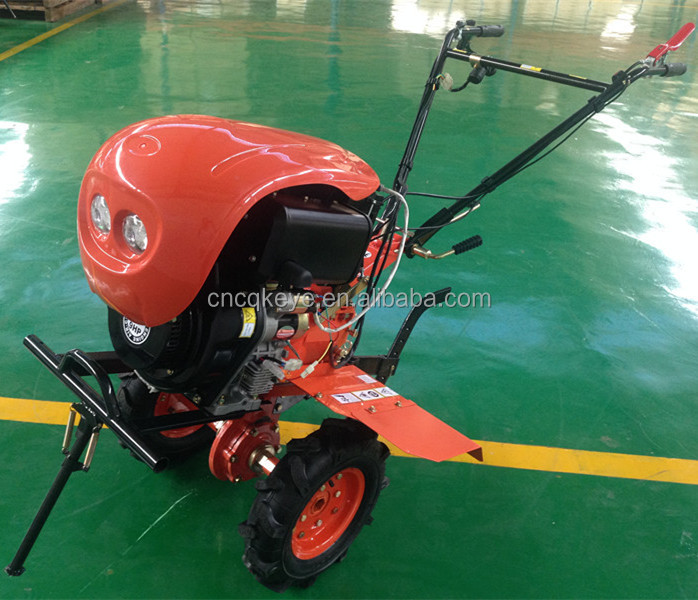 New Design Agricultural Tool Paddy Field Machine 105FC honda mini tiller with sprayer
