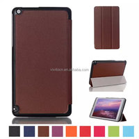 New arrival leather stand Case For NVIDIA Shield tablet K1 8 inch