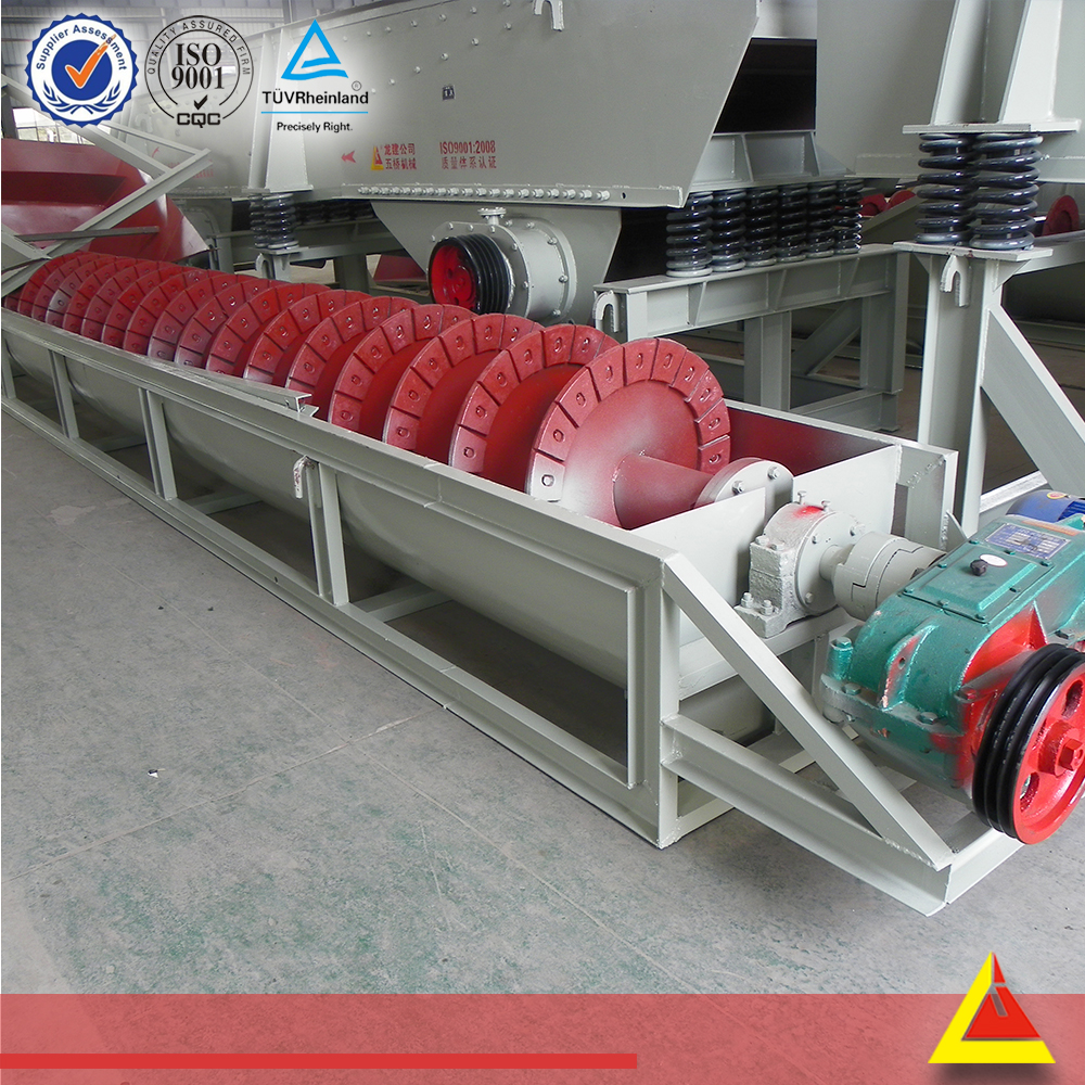 Easy Install Wheel And Screw Type Used Sand Washing Equipment