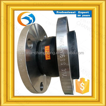 Famous manufacture supply carbon steel flexible pipe rubber joint