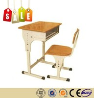 High quality stainlee steel wooden marble school furniture on sale