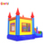 Rainbow inflatable bouncer house slide combo inflatable bouncy castle