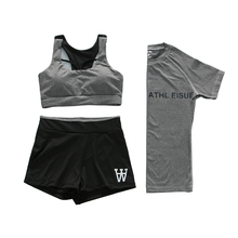 PT Sport vrouwen Sportbeha Set Yoga Kleding Past, Run Racerback & Shorts & T-shirts Gym Outfits
