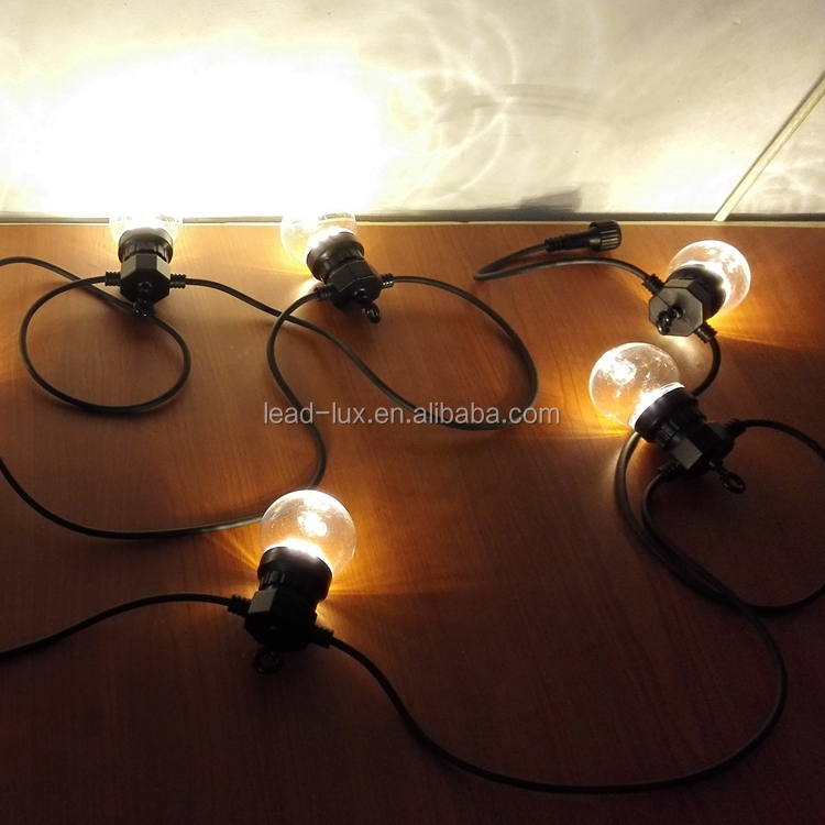 DC24 Indoor Party Festoon String Light 20M With Adapter