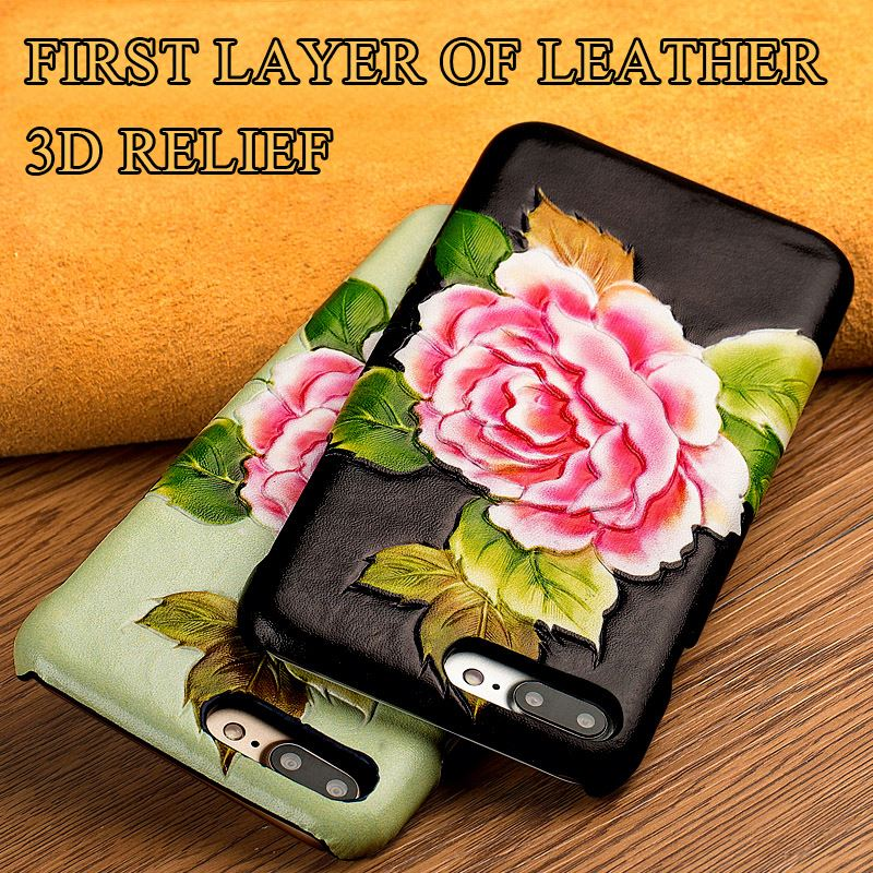 Manufacturer of custom 3 d texture of back cover for ZTE nubia z11 mini s phone genuine leather case