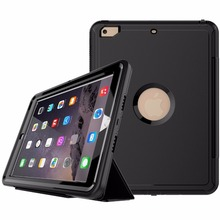 Auto Sleep Wake Up Function Stand Flip Leather Case For New iPad 2017
