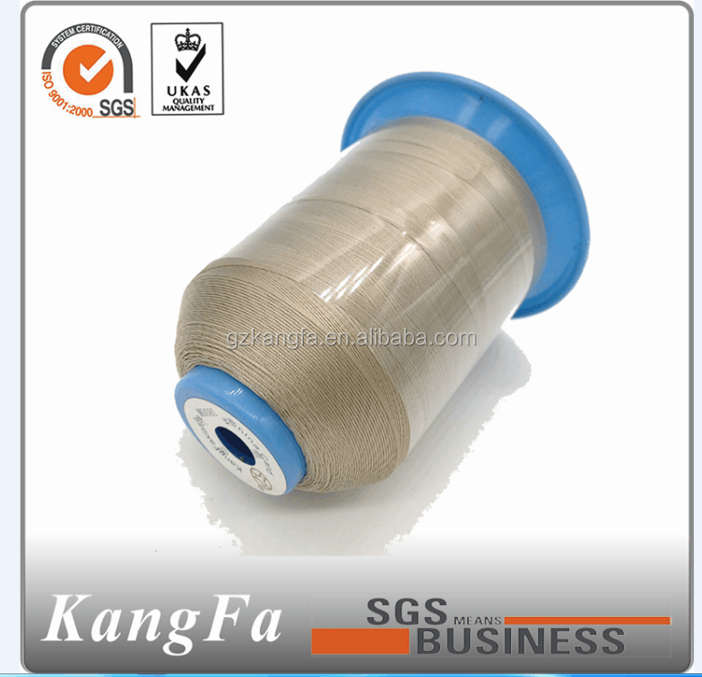 Kangfa dyed tube poly spun sewing yarn factory