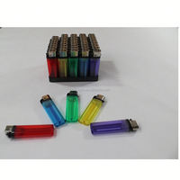 China factory cheap price FL-601 transparent color plastic disposable flint usb plasma lighter