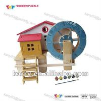 2012 new diy wooden toys