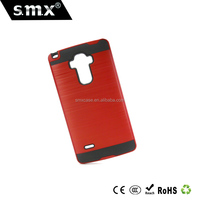 Slim Fit Dual Layer PC TPU drowbench cell phone case for LG G4 Stylius