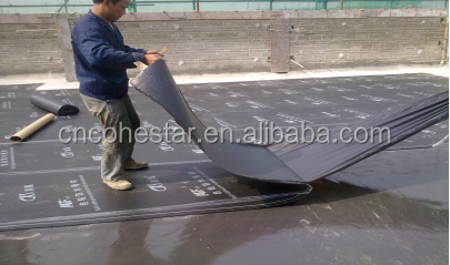 2mm 3mm 4mm Heat Resistant Waterproofing Roof Membrane
