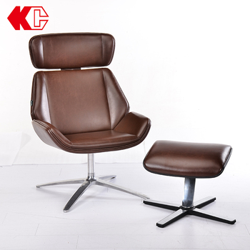 Breathable Simple Tilt emes leather leisure chair in guangzhou