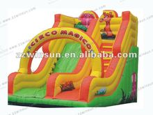 Popular amusement park inflatable water blow up slides