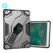 Rugged tablet heavy duty case for iPad 2017 shockproof kickstand tablet case cover for iPad 5