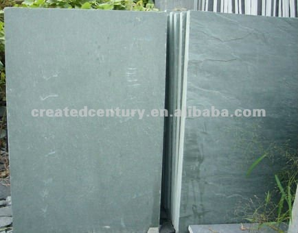 Ocean green large slate tile