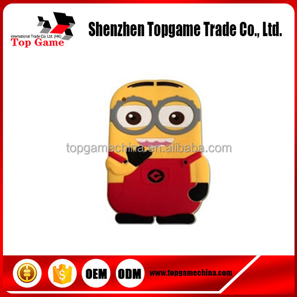 Cute Cartoon Despicable Me minion soft silicone case for tablet 9.7 iPad 2 3 4 Case cover