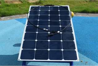 100W flexible solar panels mono solar module for RV/Boat/Golf cart/Marine/Yachts/Home use with junction box and MC4 connector