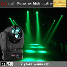 China factory direct sale 3x4in115w led mini bee eye moving head light for dancing floor