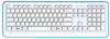 online shopping china new slim desktop 2.4ghz wireless heated ergonomic keyboard