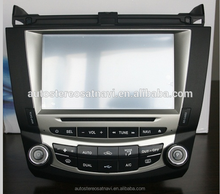 8 inch touch screen mirror link car stereo for Honda accord with GPS BT TV tuner DVR IPOD 1080P 3G WIFI
