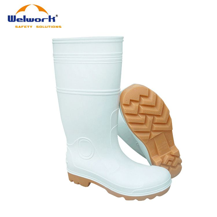 Factory Price Cheap Safety High Heel PVC Gumboots