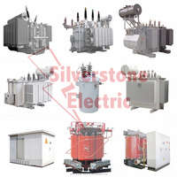 10kv copper winding amorphous alloy core used oil immersed high voltage power electrical transformer