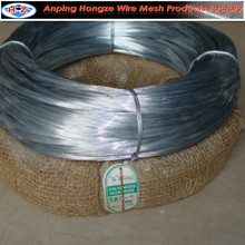 Electro galvanized iron wire (factory with ISO certificate ) 9 gauge wire diameter
