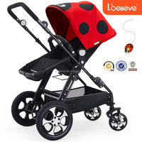 2016 Most popular best seller EN1888 folding baby walker with maxi cosi car seat adaptors