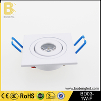 New product 1w high power up and down wall light up down light spot light housing