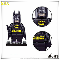 Promotiaonal designer Marvel batman Minifigures mini figure, custom mini plastic figure toy for kids