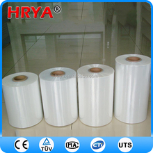 PVC plastic package materials custom logo pvc colored heat shrink wrap film