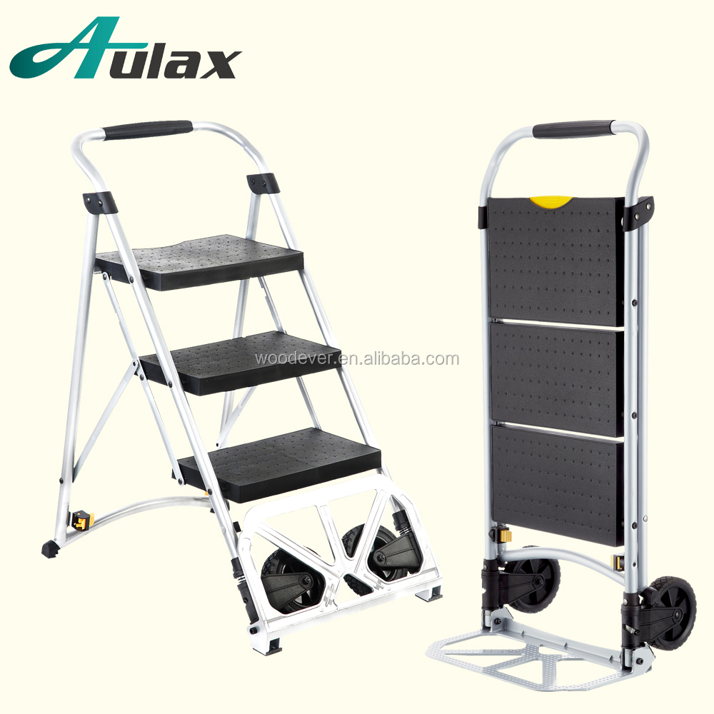Factory price two wheels three steps stair climbing trolley