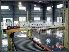 plasterboard board plant equipment with natural gypsum powder