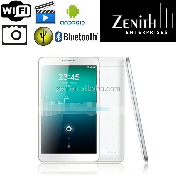 2014 Newest 8 inch Quad core CPU 8 with 3G Tablet pc