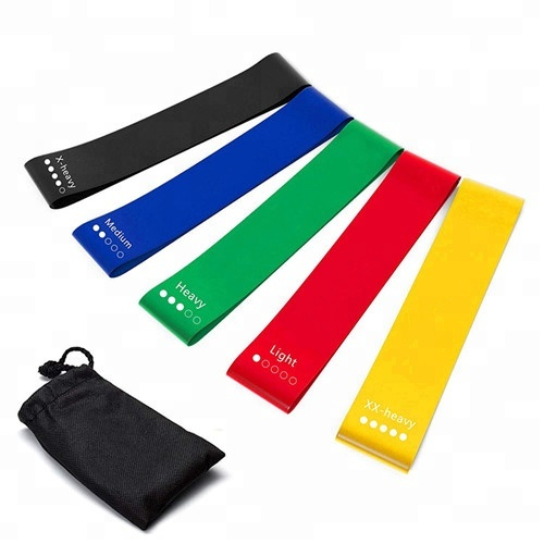 Eco-Friendly Latex yoga elastic band for body <strong>fitness</strong>