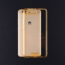 mobile accessory china suppliers tpu edge+acrylic hard disk phone case for huawei p10 plus
