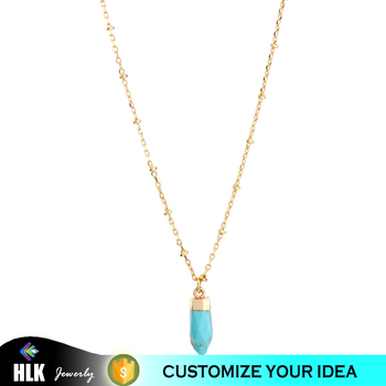 2017 Most Popular Gemstone Jewelry Choker Necklace for Women's