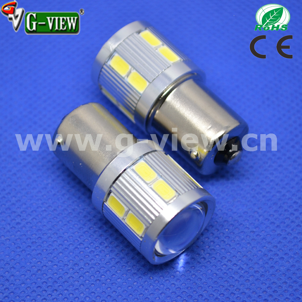 Bright White 1156 12SMD 5630+ 5w CREEled auto led turn signal light bulb