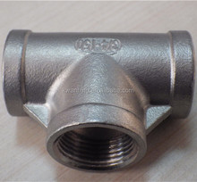 Stainless Steel 3 Way tube Fitting