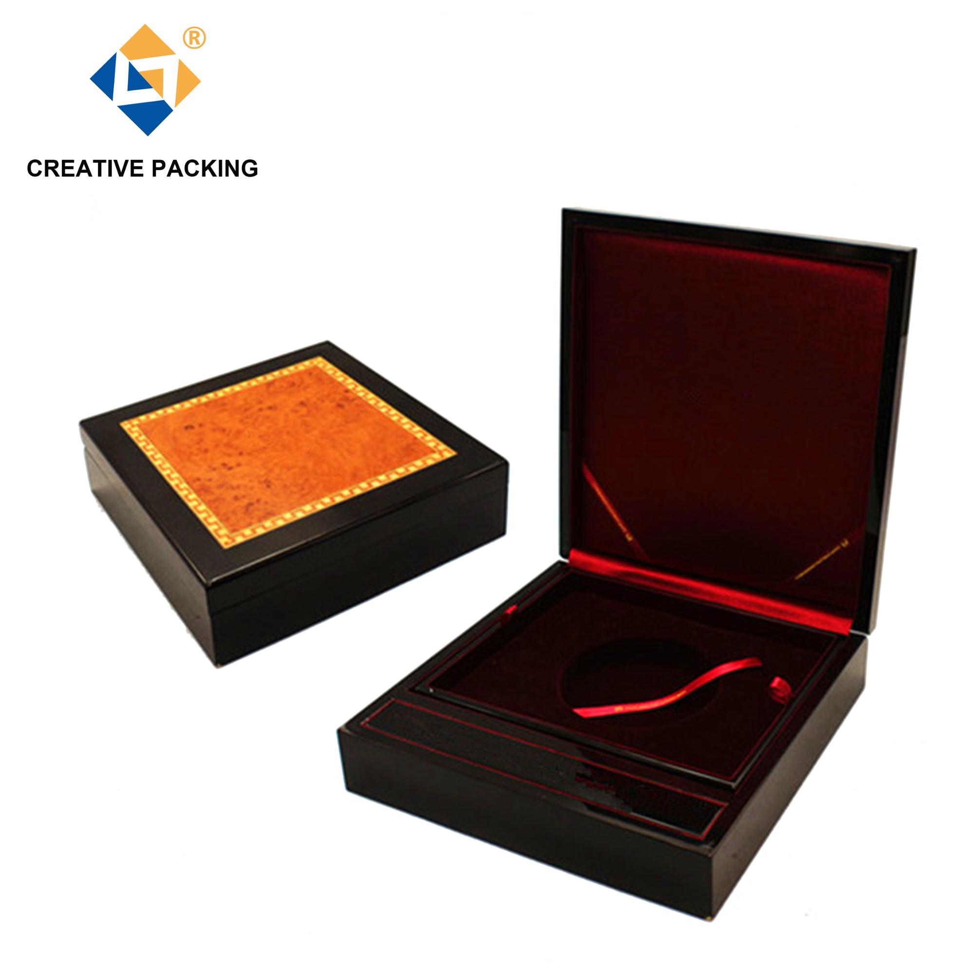 Wholesale High Quality Custom Display Wood Coin Box