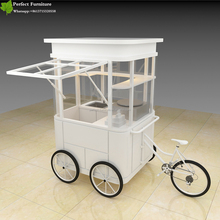 solar light food cart flavor churros bicycle food truck ice cream bikes for sale