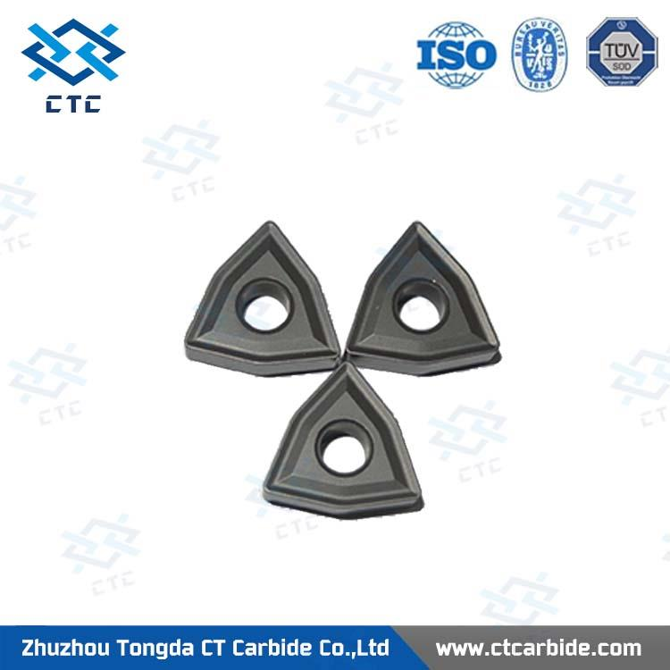 Multifunctional carbide insert 2 teeth 40 degree pulley inserts for wholesales