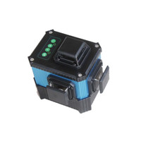 New product 360 degrees cross 532nm green laser level machine