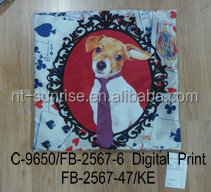 MR. DOG designed cushion by digital printed from chian supplier