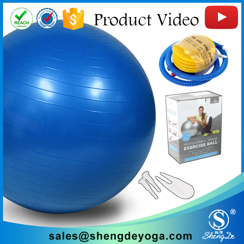 Private lable yoga ball with PVC material ,Chinese factory supplier acupuncture yoga ball manufacturer