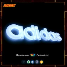 2016 high bright 3D customized acrylic neon channel letter sign