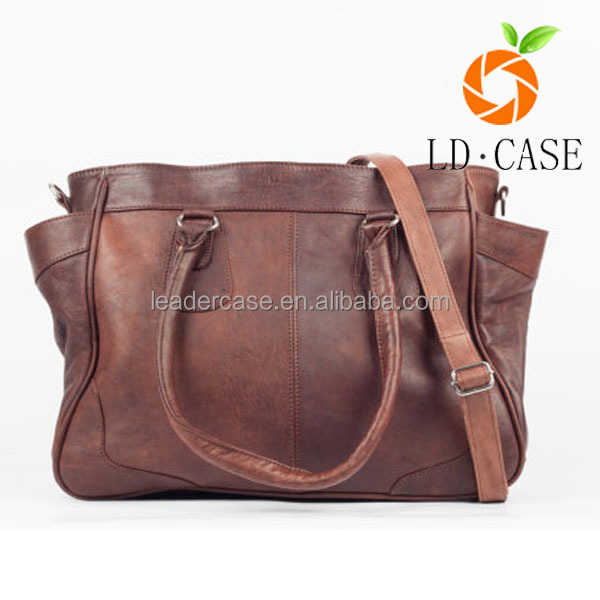 wholesale fashion Europe vintage style women genuine leather handbag ladies purses handbags